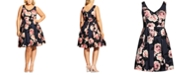 City Chic Trendy Plus Size Love Is Sweet Dress