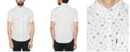 Original Penguin Men's Stretch Chess Conversational Short Sleeve Shirt