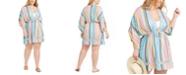Dotti Trendy Plus Size Havana Coast Tunic Cover-Up, Created for Macy's
