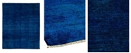 """Timeless Rug Designs CLOSEOUT! One of a Kind OOAK1071 Sapphire 8'1"""" x 10'1"""" Area Rug"""