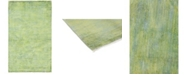 """Timeless Rug Designs CLOSEOUT! One of a Kind OOAK234 Lime 3'10"""" x 6'6"""" Area Rug"""