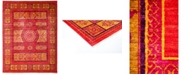 """Timeless Rug Designs CLOSEOUT! One of a Kind OOAK3138 Red 9' x 11'10"""" Area Rug"""