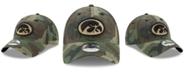 New Era Iowa Hawkeyes Woodland Classic Twill 9TWENTY Strapback Cap
