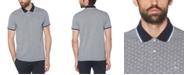 Original Penguin Men's Slim-Fit Geo-Print Birdseye Piqué Polo Shirt