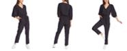 1.STATE Belted Polka-Dot Jumpsuit