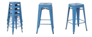 Office Star Bristow Counter Stool (Set of 4)