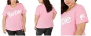 Love Tribe Hybrid Trendy Plus Size Barbie T-Shirt, Created For Macy's