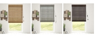 Chicology Bamboo Roman Shades, Natural Woven Wood Privacy Window Blind