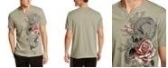 INC International Concepts INC Men's Split-Neck Studded T-Shirt, Created For Macy's