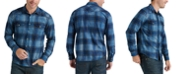 Lucky Brand Men's Santa Fe Western Plaid Shirt