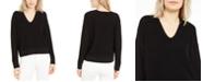 Eileen Fisher V-Neck Organic Cotton Sweater, Regular & Petite Sizes