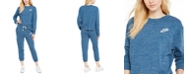 Nike Gym Vintage Sweatshirt & Capri Sweatpants