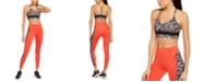 Nike One Daisy-Print Low-Impact Sports Bra & Leggings