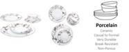 Noritake Raptures Platinum Dinnerware Collection