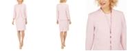 Kasper Stretch Crepe Sheath Dress and Long Sleeve Stretch Crepe Jacket