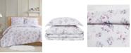 Cottage Classics Rose Dusk 3-Piece Full/Queen Comforter Set