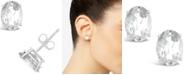 Macy's White Topaz (3-1/5 ct. t.w.) Stud Earrings in 14K White or Yellow Gold
