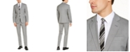 A X Armani Exchange Armani Exchange Men's Modern-Fit Light Gray Suit Separates, Created for Macy's