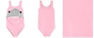 Carter's Baby Girls 1-Pc. Shark Swimsuit
