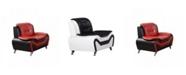 Us Pride Furniture Arul Club Chair