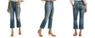 Lucky Brand Bridgette Cropped Mini Bootcut Jeans