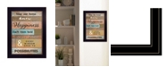 Trendy Decor 4U Trendy Decor 4U Our Home by Karen Tribett, Ready to hang Framed Print Collection