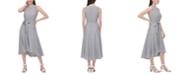 Calvin Klein Sleeveless Striped Dress