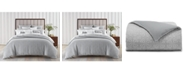 Charter Club Woven Tile Cotton 2-Pc. Twin Duvet Set, Created for Macy's