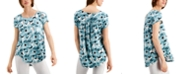 Alfani Print T-Shirt, Created for Macy's