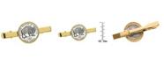 American Coin Treasures Westward Journey Bison Nickel Coin Tie Clip