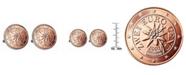 American Coin Treasures Austrian 2-Euro Coin Cufflinks
