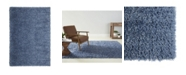 "Laura Hill Cambridge Ames 1-101-309 Blue 7'10"" x 10'2"" Area Rug"