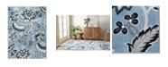 """Global Rug Designs Haven Lane Hal04 Mist 5'2"""" x 7'2"""" Area Rug"""