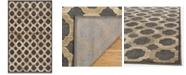 """Martha Stewart Collection MSR74302 Onyx 3'3"""" x 5'3"""" Area Rug"""