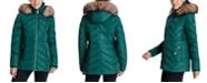 Michael Kors Faux-Fur-Trim Hooded Down Puffer Coat, Created for Macy's
