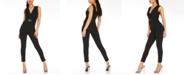 Quiz V-Neck Belted Jumpsuit