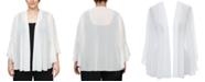 Alex Evenings Plus Size 3/4-Sleeve Jacket