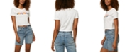 O'Neill Juniors' Hibiscus Cotton Cropped T-Shirt