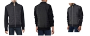 X-Ray  Men's Lightly Padded Hybrid Sweater Jacket