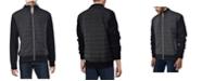 X-Ray  Men's Lightly Padded Hybrid Sweater Jacket