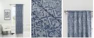 """B. Smith Fiona Light Filtering Rod Pocket Curtain Panel By Nefeli, 96"""" x 52"""""""