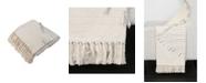 "THRO Macey Embroidered Tassel Trim Decorative 60"" X 50"""