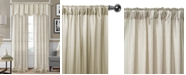 "Elrene Enza Semi-Sheer Jacquard Stripe Pair of 52"" x 84"" Panels"