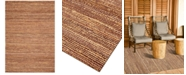 """D Style CLOSEOUT! Natural Jute Eggplant 5' x 7'6"""" Area Rug"""