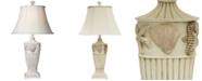 StyleCraft Cream Seaside Table Lamp