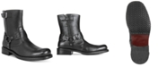 Unlisted Men's Slightly Off Plain-Toe Moto Boots