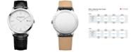 Baume & Mercier Men's Swiss Classima Black Leather Strap Watch 40mm M0A10323
