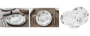 Corelle Boutique Misty Leaves 12-Piece Dinnerware Set