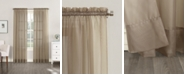 """No. 918 Sheer Voile 59"""" x 54"""" Rod Pocket Top Curtain Panel"""