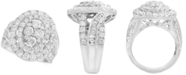 EFFY Collection Rock Candy by EFFY® Diamond Oval Cluster Ring (3-1/2 ct. t.w. in 14k White Gold
